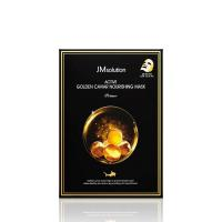Тканевая маска JMSolution Active Golden Caviar Nourishing Mask Prime