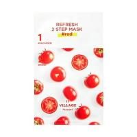 Двухфазная маска Village 11 Factory Refresh 2-Step Mask Red