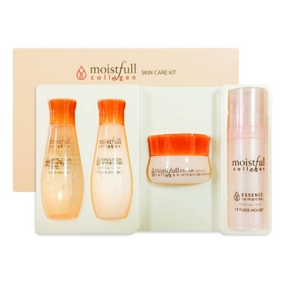 Набор мини-версий Etude House Collagen Moistfull Skin Care Kit
