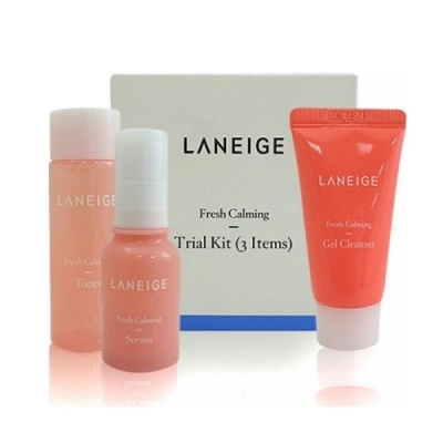 Набор мини-версий Laneige Fresh Calming Trial Kit