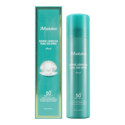 Солнцезащитный мист-спрей JMSolution Marine Luminous Pearl Deep Sun Spray SPF 50+ PA++++