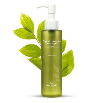 Гидрофильное масло The Skin House Natural Green Tea Cleansing Oil